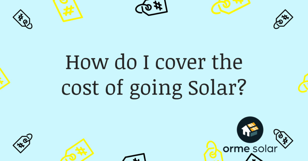 cover cost of solar