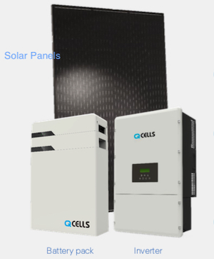 q cells battery inverter