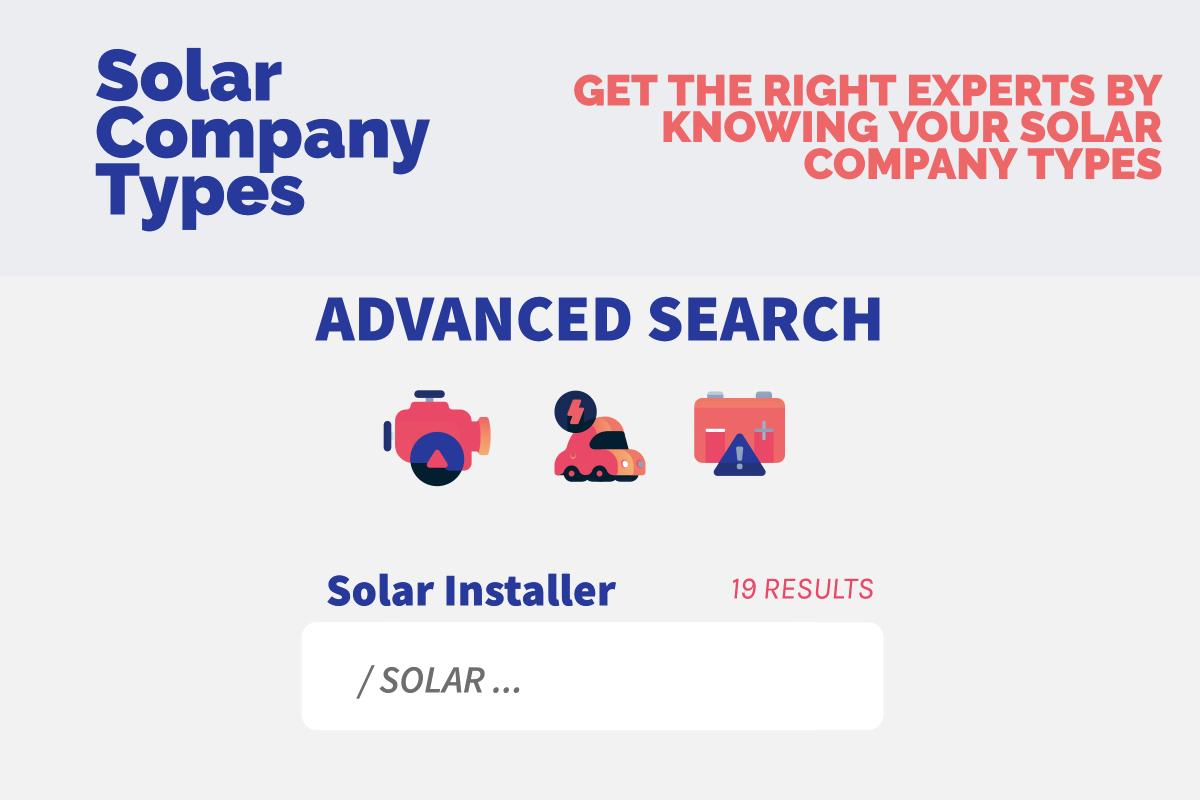 solar company types