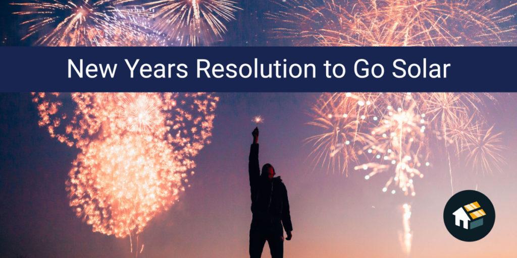 2020 new years resolution go solar