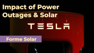 Solar Battery, Panels and Their Impact on Power Outages