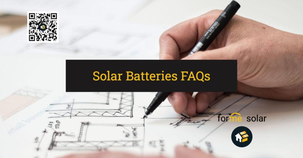 solar battery faqs