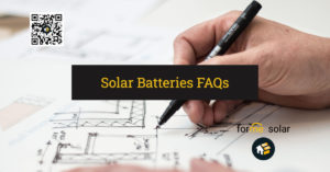 What are some questions about solar batteries?