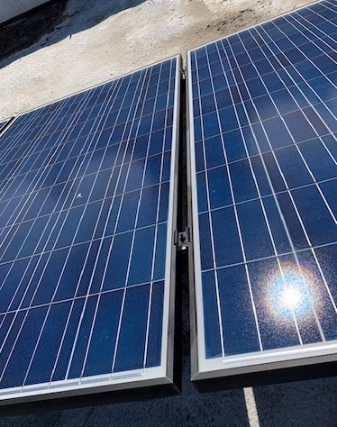 solar panels commercial roof