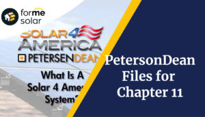 PetersenDean Filed for Chapter 11, What That Means