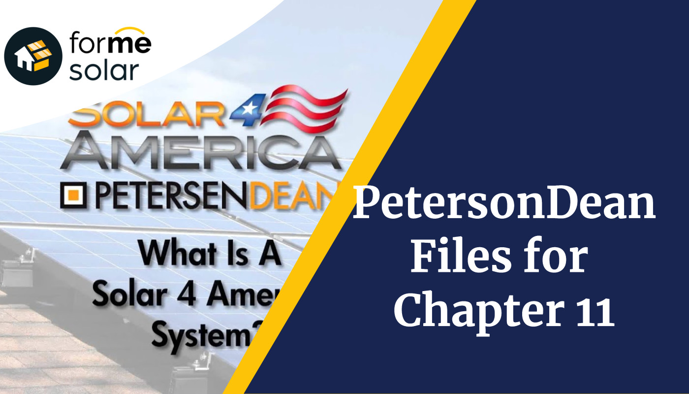 petersondean no longer in business chapter 11