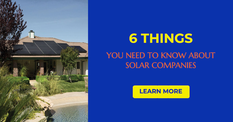6 things you need to know about solar companies
