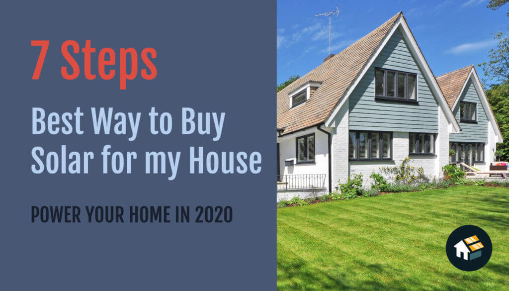 7 steps to buy solar panels for home installation