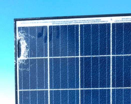 glass breakage solar panels issues