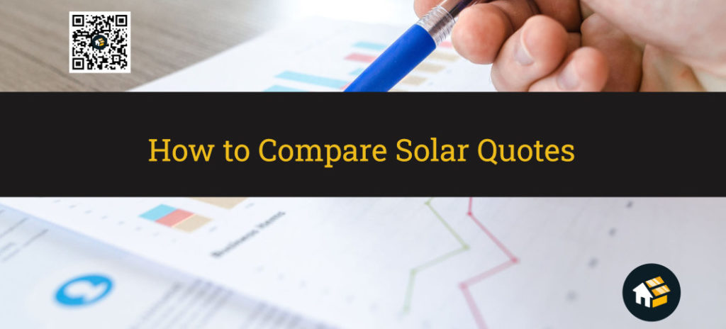 how to compare solar quotes