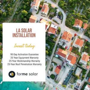 Solar Installation in LA