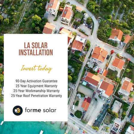 los angeles solar installation company