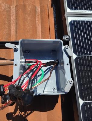 solar junction box wiring forme solar