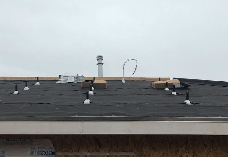 solar panel roofing removal paper