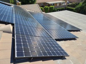 How to Clean Solar Panels on a Roof?
