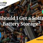 should i get solar battery storage