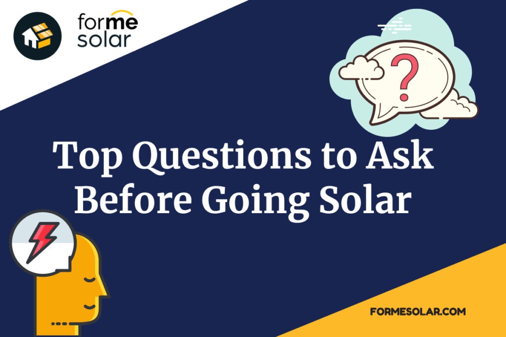 top questions to ask before going solar
