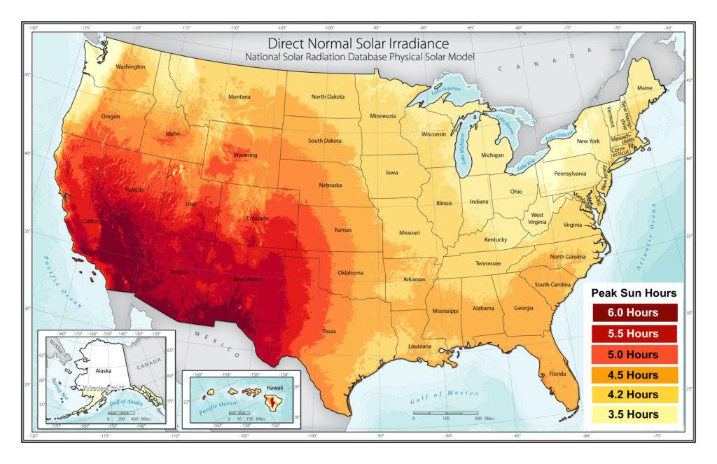 peak sun hours forme solar