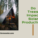 tree shade impact solar production
