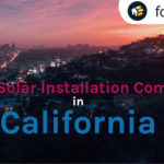best solar installation company california
