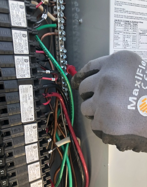 electrical voltage testing