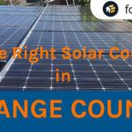 top solar company orange county