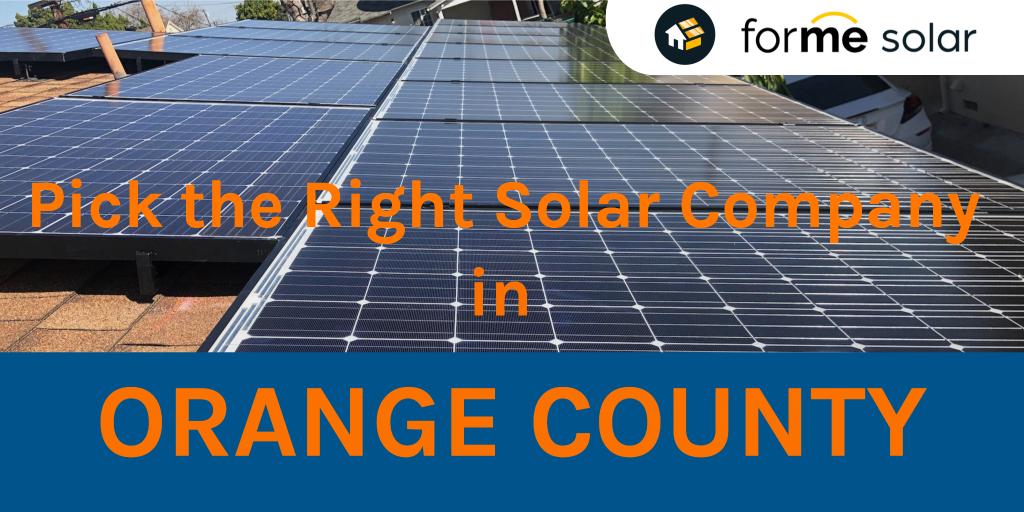 top solar company in Orange County OC