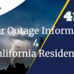 power outage california