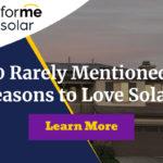 10 reasons secretly love solar panels