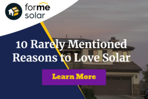 10 Rarely Mentioned Reasons to Love Solar
