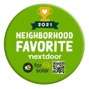Forme Solar Wins Nextdoor 2021 Neighborhood Business Award