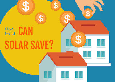how much can solar save