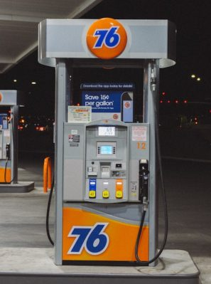 avoid gas station pumping