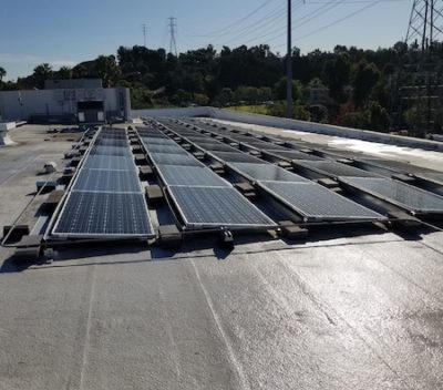 la warehouse commercial solar