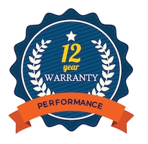 12 year performance warranty