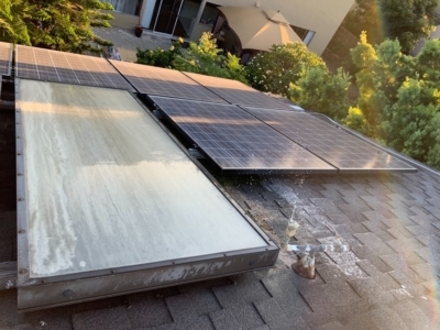 solar repair water breakage panels