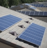 rooftop solar panel installation new home construction homes
