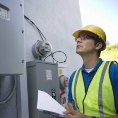 solar panel electrical panel inspection