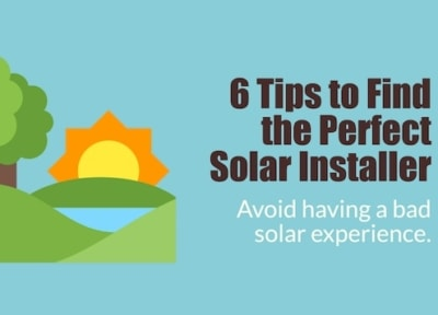 tips to finding the best solar installer