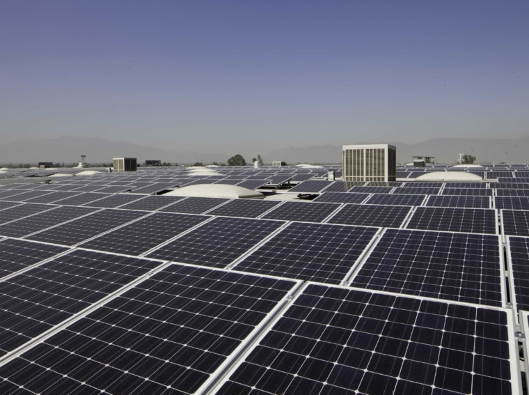 commercial solar rooftop california