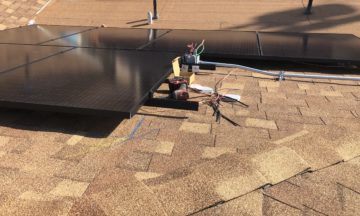 solar rails mounting roof home