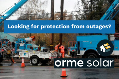 pge protection from outages orme fires