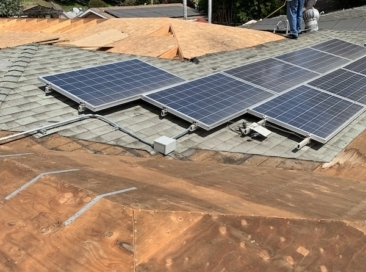 solar panel removal reroof